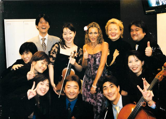 MY MUSICIANS & MAMA IN JAPAN