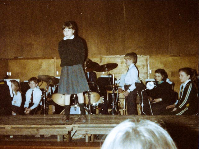 My 1st ever Performance at St. Bede's School, Eastbourne