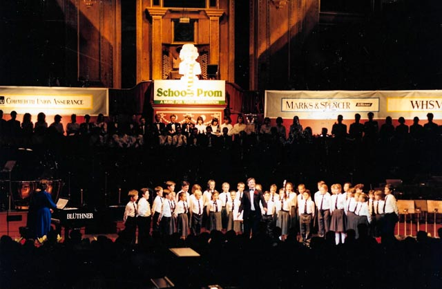 SCHOOL CHOIR PROMS 1989