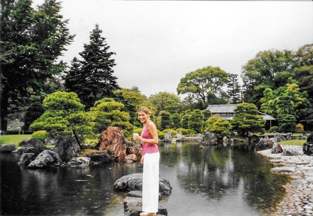 JAPAN - REHEARSAL @ NIJOJ O CASTLE - KYOTO